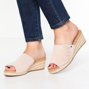 Ugg Danes Horchata espadrille wedge sandal